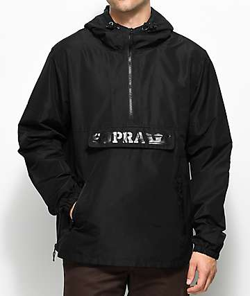 Supra Deck Black Anorak Jacket