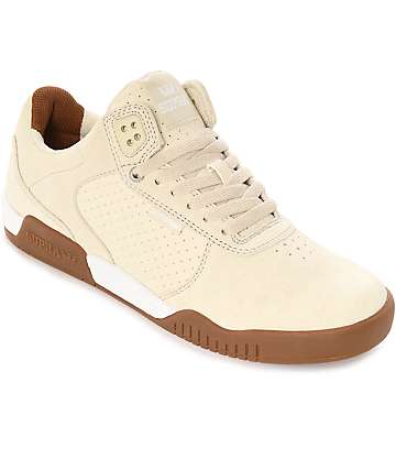 Supra Ellington zapatos de skate en goma y color crema