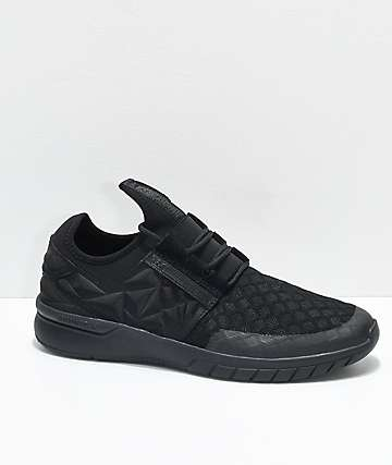 Supra Flow Run EVO All Black Shoes