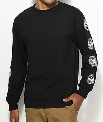 Supra Geo Black Long Sleeve T-Shirt