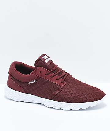 Supra Hammer Run Andorra Red Triangle Mesh Shoes