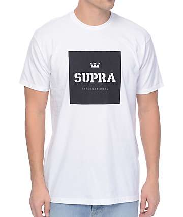 Supra International White T-Shirt