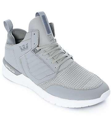 Supra Method zapatos de nubuck en gris