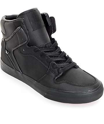 Supra Red Carpet Edition Vaider Tuf zapatos de skate negro