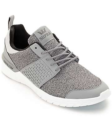 Supra Scissor Grey Static Mesh Shoes