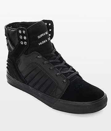 Supra Skytop EVO zapatos de skate en negro