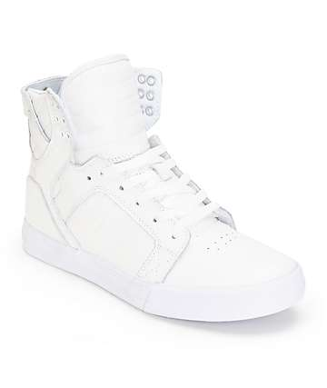 Supra Skytop Leather Skate Shoes