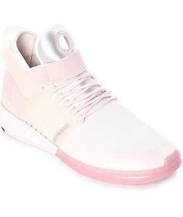Supra Skytop V Light Pink Skate Shoes