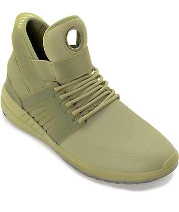 Supra Skytop V Mono zapatos de skate en verde