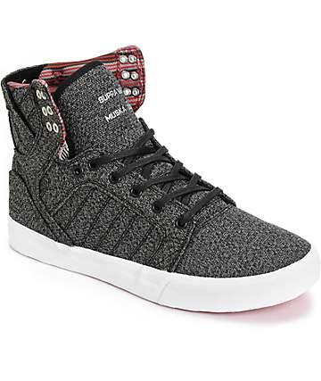Supra Skytop zapatos de skate en tejido jaspeado