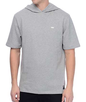 Supra Spar Heather Grey Hooded Sweatshirt