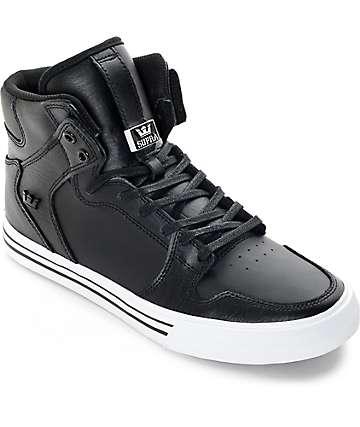 Supra Vaider zapatos negros de skate