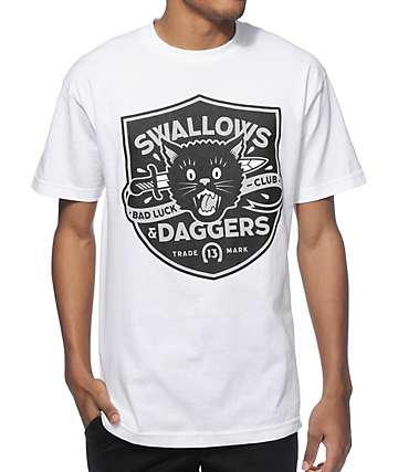 Swallows & Daggers Bad Luck Club T-Shirt