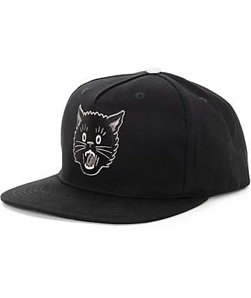 Swallows & Daggers Cathead Black Snapback Hat