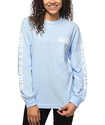 Swallows & Daggers Fuck Pablo camiseta de manga larga en azul claro