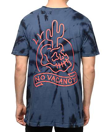 Swallows & Daggers No Vacancy Navy T-Shirt