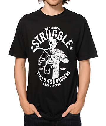 Swallows & Daggers Original Struggle T-Shirt