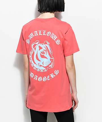 Swallows & Daggers Pitbull Pink T-Shirt