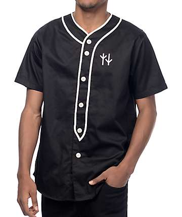 Swallows & Daggers Varsity Black Baseball Jersey