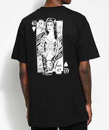 Swallows & Daggers X Rose Whittaker's Queen Black T-Shirt