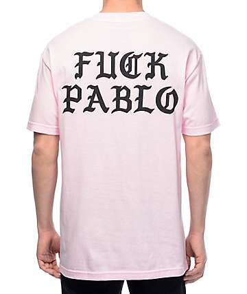 Swallows & Daggers Fuck Pablo Pink T-Shirt
