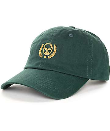 Sweatshirt By Earl Sweatshirt Crest Dark Green Baseball Hat