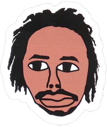 Sweatshirt By Earl Sweatshirt Face Sticker
