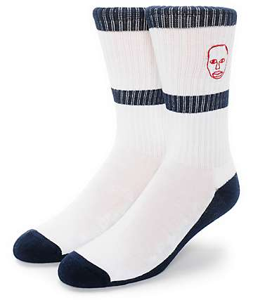 Sweatshirt By Earl Sweatshirt Face Stripe Crew Socks