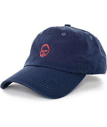 Sweatshirt By Earl Sweatshirt Header Navy & Red Baseball Hat