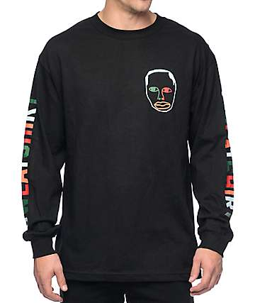 Sweatshirt By Earl Sweatshirt Multicolor Black Long Sleeve T-Shirt