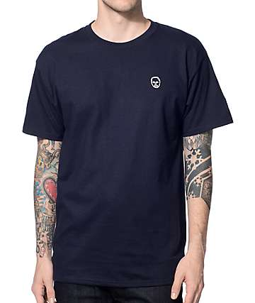 Sweatshirt By Earl Sweatshirt Premium Navy & White T-Shirt