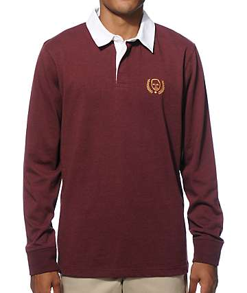 Sweatshirt By Earl Sweatshirt Rugby Long Sleeve Polo Shirt