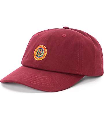 Sweatshirt By Earl Sweatshirt Seal Burgundy Baseball Hat