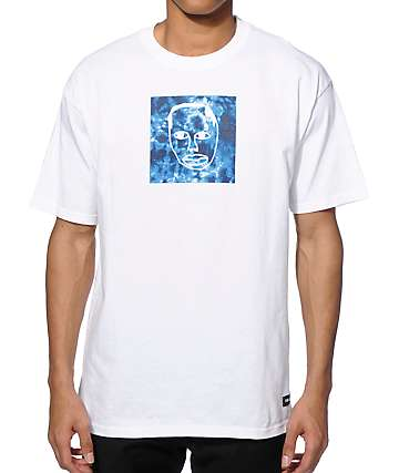 Sweatshirt By Earl Sweatshirt Tie Dye Face Square T-Shirt