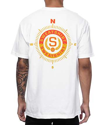Sweatshirt by Earl Sweatshirt Navigator White T-Shirt