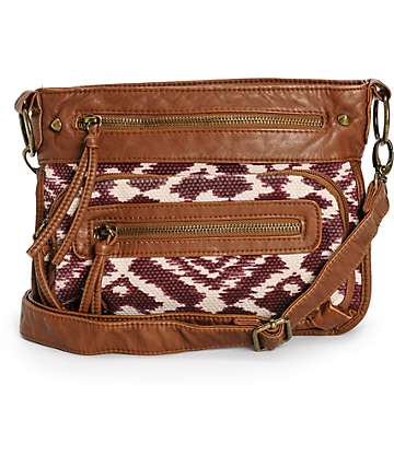 T-Shirt & Jeans Aurora Ikat Crossbody Purse