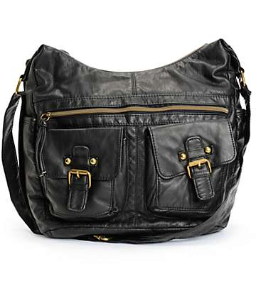 T-Shirt & Jeans Chloe Black Crossbody Purse