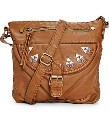 T-Shirt & Jeans Mabel Cognac Crossbody Purse