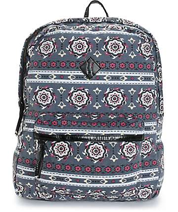 T-Shirt & Jeans Multi Print Backpack