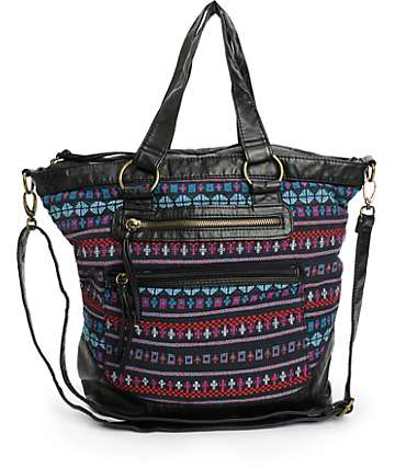 T-Shirt & Jeans Zoey Tribal Tote Bag