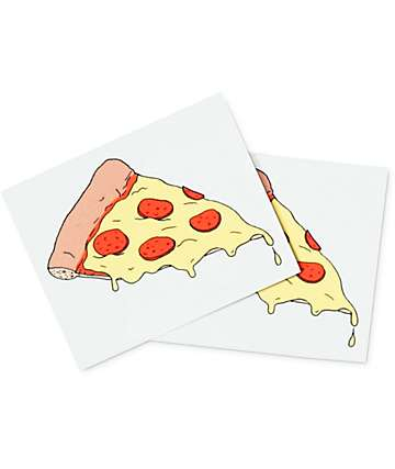 Tattly Pizza Temporary Tattoo