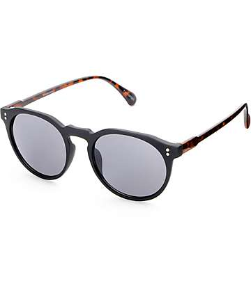 Taylor Matte Black & Tortoise Classic Sunglasses