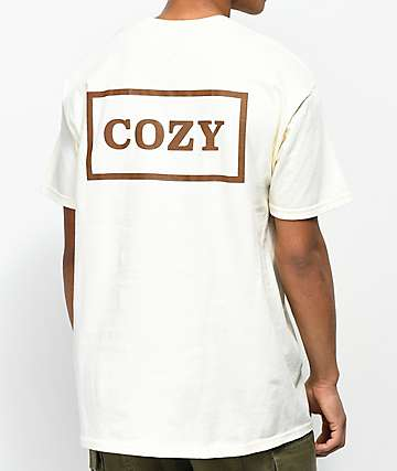 Team Cozy Cozier Box Cream T-Shirt