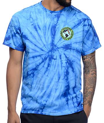 Teenage Madness Blue Tie Dye T-Shirt