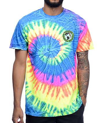 Teenage Madness Multi Tie Dye T-Shirt