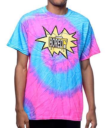 Teenage Television Logo Spiral Tie Dye T-Shirt