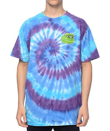 Teenage x PePe Spiral Tie Dye T-Shirt