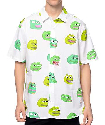 Teenage x PePe White Button Up Shirt