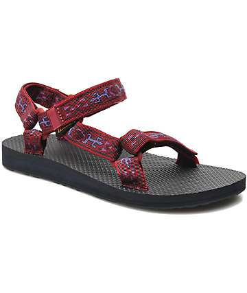 Teva Universal Old Lizard Red Sandals