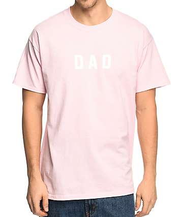The Bad Dads Club Dad camiseta en rosa clara